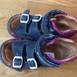 Ортопедические сандалии натур кожа Red Kids, стелька 15 см, на ножку 13,5-14,5 см