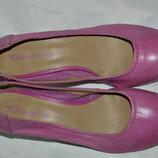 Туфли кожа tamaris размер 38, туфлі шкіра