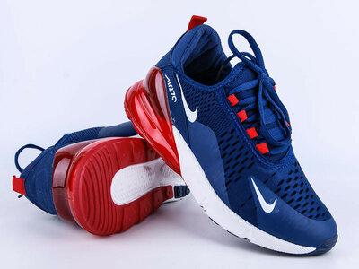 Кроссовки мужские Nike air Max 270 blue / red