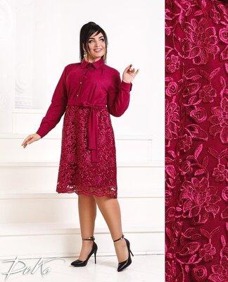 женское нарядное пышное вечернее платье до колен гипюром женские вечерние нарядные пышные платья