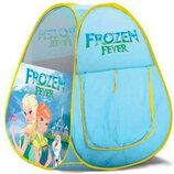 Палатка HF011 Холодное Сердце. Ігрова палатка. Дитяча палатка. Палатка для дітей.