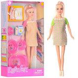 Кукла DEFA 8350.Кукла для дівчинки. Беременна кукла. Вагітна лялька. Лялька для дівчинки.