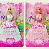 Лялька Defa Lucy наречена 6091 в пишном. Кукла для дівчинки. Лялька для дівчинки. Кукла для девочки.