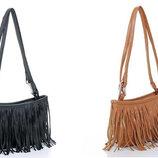 Стильная женская сумка с бахромой В Наличии