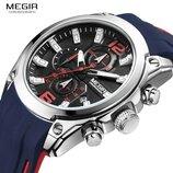Мужские часы Megir Formula 2063 / Гарантия. Мегир Чоловічий годинник