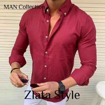 Рубашка Ткань Коттон, производство Турция Отменное качество Цвета белый, голубой, бордо, черн