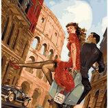 Картина По Номерам. BRUSHME ПОБЕГ Влюбленных В Риме GX25182
