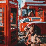 Картина По Номерам. BRUSHME ЛОНДОН TIME GX27964. Хлопець.