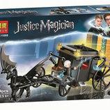 Конструктор Bela 11008 Гарри Поттер Побег Грин-Де-Вальда, аналог Lego Harry Potter 75951, 144 дет