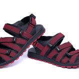 Мужские кожаные сандалии Nike крас