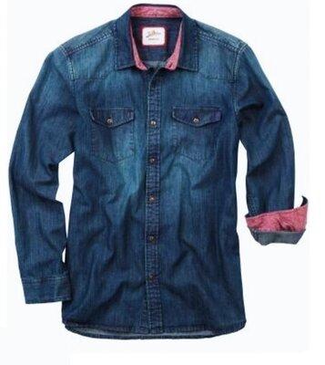 Рубашка джинсовая Joe Browns® оригинал XL-XXL