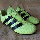 Кроссовки футзалки фирменные Adidas messi р.34-21см.