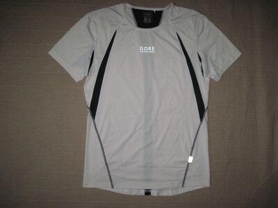 Gore running wear S спортивная беговая футболка мужская