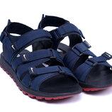 Мужские кожаные сандалии Nike cин