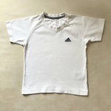 Белая футболка adidas оригинал