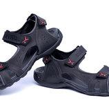 Мужские кожаные сандалии е черн. new