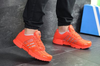Кроссовки мужские сетка Adidas ClimaCool orange