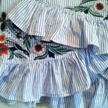 Классная стильная летняя юбка Zara размер XS