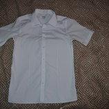 новая белая рубашка новая рубашка M&S на 12-13 лет рост