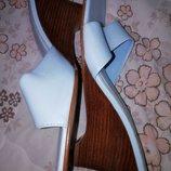 Женские кожаные шлепанцы dorothy perkins 38 размер