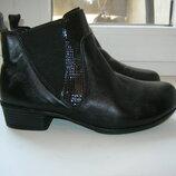 Ботиночки Easy, 100% натуральная кожа, размер 38