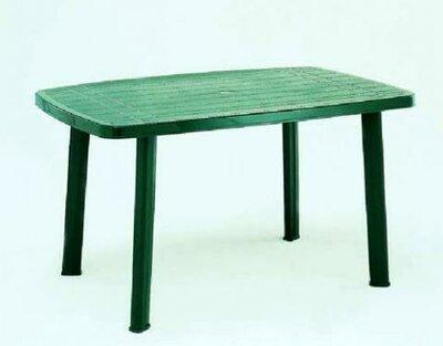 Стол пластиковый прямоугольный. Пластиковая мебель для дома и дачи.