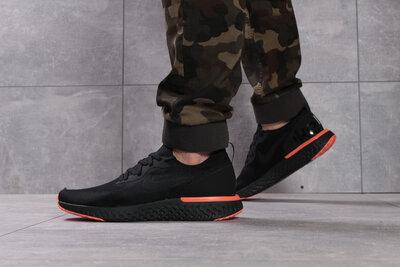 Кроссовки мужские Nike Epic React, черные Код 16102