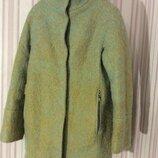 Утепленное мега стильное пальто eleganza