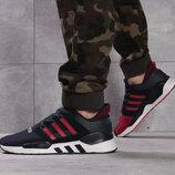 Кроссовки мужские Adidas Adv / 91-18, темно-синие Код 16112