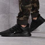 Кроссовки мужские Adidas Adv / 91-18, черные Код 16111
