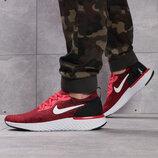 Кроссовки мужские Nike Epic React, красные Код 16104