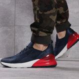 Кроссовки мужские Nike Air 270, темно-синие Код 16066
