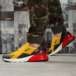Кроссовки мужские Nike Air 270, желтые Код 16063