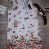 Calzedonia Шикарное платье с макраме 124-136 см р. Л сток