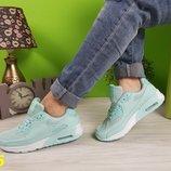 Акция Женские кроссовки Nike Air мята
