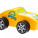 Машинка Терра-Спорт CUBIKA LM-4 12954 . Деревянный автомобиль Кубика.