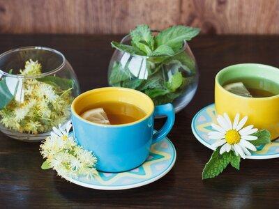 Чай «Детский» липа, мята, мелисса.