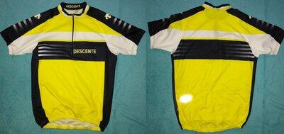 как новое Descente велоджерси футболка спортивная унисекс