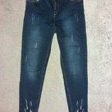 Комфортные джинсы на высокой талии для пышных форм
