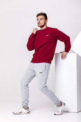 Костюм теплый спортивный Nike Костюм зимний спортивный найк на флисе