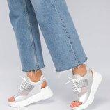Спортивные босоножки на шнуровке