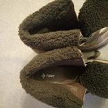Ботинки деми женские кожаные фирмы Next р.5/38 стелька 24,5см в идеальном состоянии
