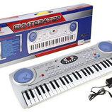 Детское Пианино SD 5490. Дитяче піаніно. Синтезатор детский. Синтезатор дитячий.