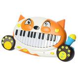Детское Пианино 8710D. Дитяче піаніно. Синтезатор детский. Синтезатор дитячий.