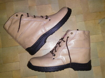 Ботинки р.42-43, натур.кожа мех зима