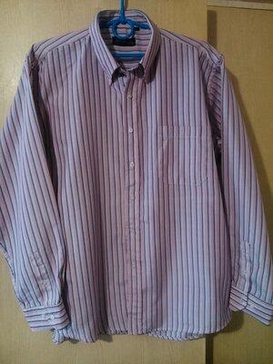 Стильная мужская рубашка в полоску Avsna