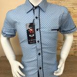 Дитяча рубашка для хлопчика SB классік голуба