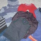 Свитер, джинсы, рубашка в сад 110-116см, пакет одежды2.