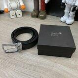 Montblanc Reversible Business Belt Black
