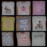 Фирменные футболки 2-6лет отл